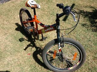 Bicicleta Aurora Bmx Nas- Bike.rodado 20