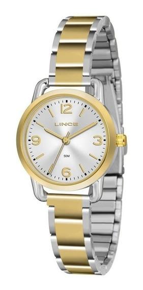 Relógio Lince Feminino Pequeno Misto Lrtj071l S2sx