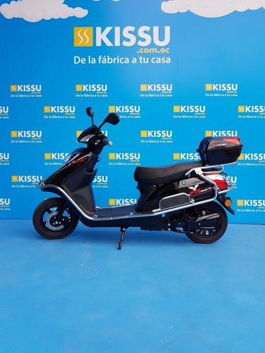 Moto Electrica Ptg E-bike Tipo Pasola  Negro Brillante
