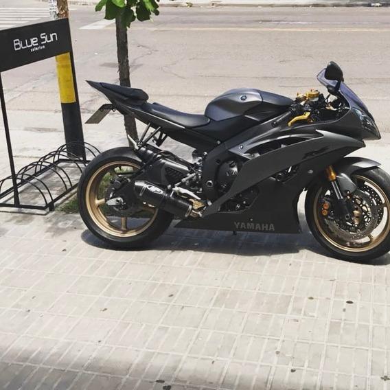 Yamaha R6 - Color Negra Y Dorada