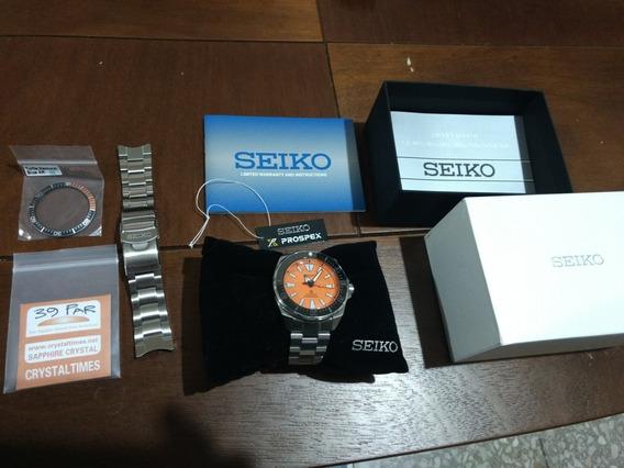 Reloj Seiko Samurai Naranja Srpc07