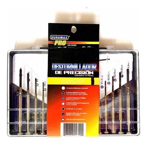 Destornilladores De Precision Duramax 0630-negros