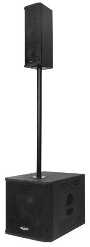 Caixa Line Array Vert1200 300 Watts Nca Bluetooth Usb Dj Sub
