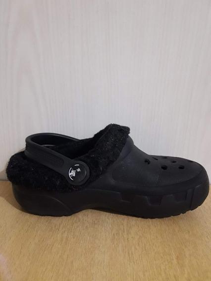 Crocs Originales Niños Zuecos Con Felpa