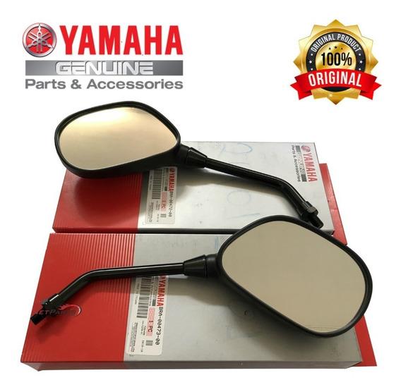 Espelho Retrovisor Fazer 250 2005 A 2014 Original Yamaha Par