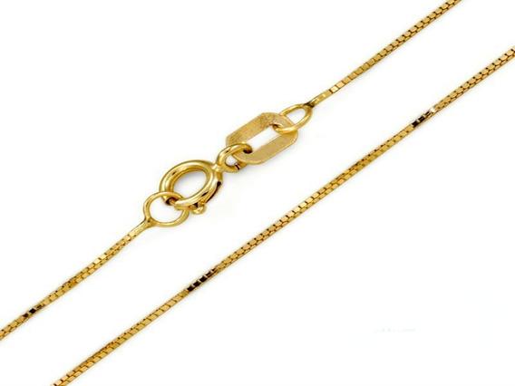 Cordao Veneziana Ouro 1,8 Gramas 40 Cm 18k
