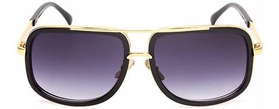 Óculos De Sol De Luxo Marca Designer Raiada Uv400