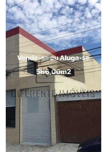 Casa Comercial 8 Vagas -5 Wc - 587 M² Na Vila Rio Branco !!!