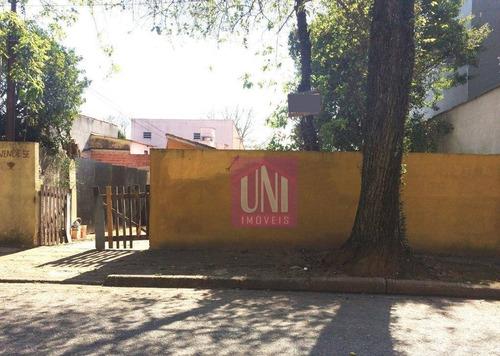 Terreno À Venda, 250 M² Por R$ 400.000 - Jardim Utinga - Santo André/sp - Te0193