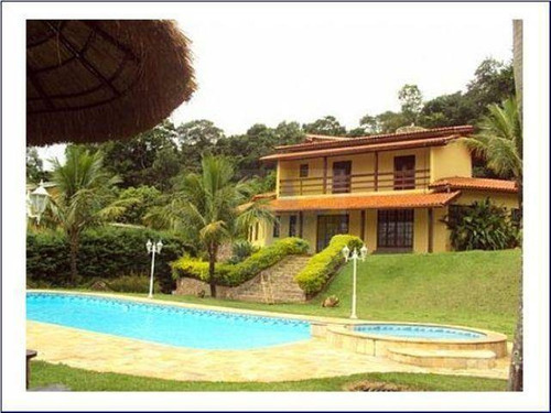 Chácara Residencial À Venda Em Condomínio Fechado Na Região De Atibaia Sp - Ch0319. - Ch0319