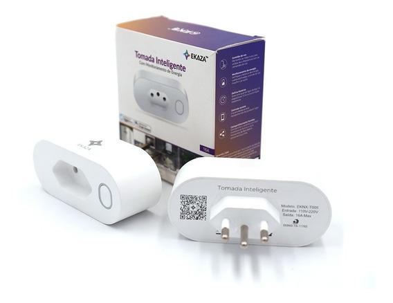 Tomada Inteligente Ekaza 16a Smart Home Alexa/google
