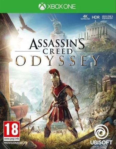 Assassins Creed Odyssey Xbox One Código 25 Dígitos