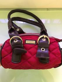 Bolsa Pequena Vermelha Carmim Pouco Usada