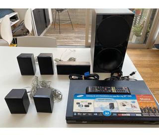 Samsung Home Theater + Convertidor De Tv En Smart