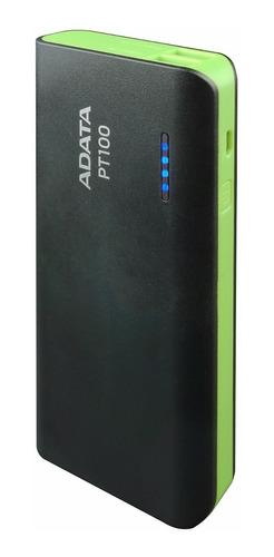 Adata Power Bank Cargador Portatil Celular Pt100 Negro