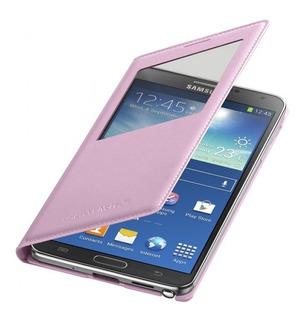 Estuche Cover Flip Samsung Galaxy Note 3 Rosado