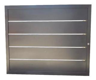 Porton Corredizo 2,55 X 2,10 Con Aceros Manual
