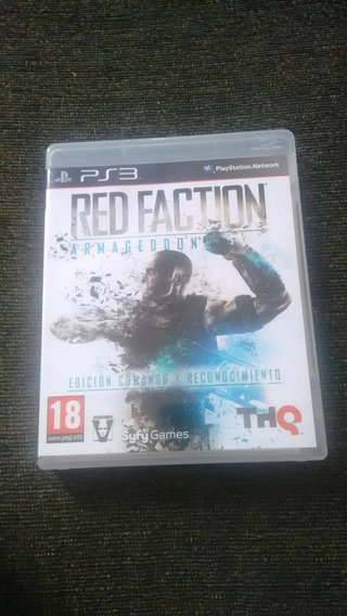 Red Faction Armageddon Ps3 Mídia Física Original Deslacrado!