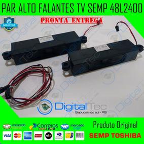 Alto Falantes (par) Tv Semp Toshiba V2 48l2400 48l2400