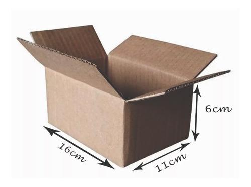 400 Caixas De Papelão 16x11x6 Menor Valor