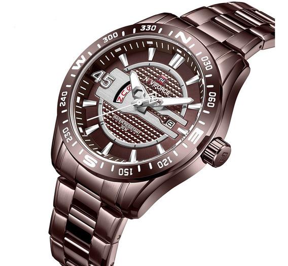 Relógio Masculino Naviforce Esportivo Lançamento 9157
