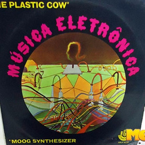 The Plastic Cow 1970 Música Electrônica Lp Moog Synthesizer