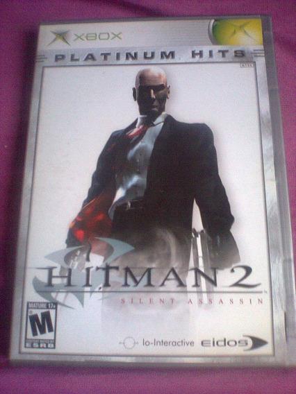 Hitman 2 - Silent Assassin ( Game Original Xbox Clássico )