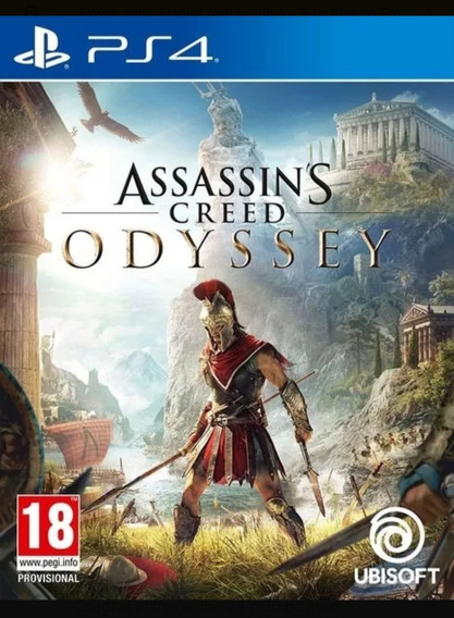 Jogo Game Assassins Creed Odyssey Playstation 4 Ps4 Novo