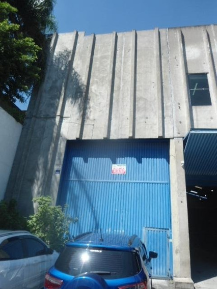 Galpão Para Alugar, 310 M² Por R$ 6.500/mês - Vila Independência - São Paulo/sp - Ga0161
