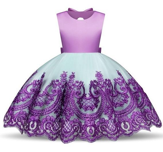 Vestido Para Presentacion De Niña De 3 Años De Unicornio En