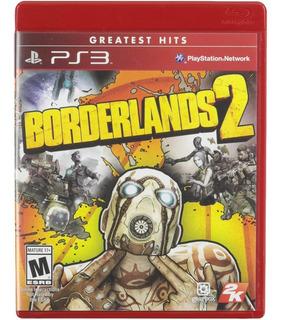 Borderlands 2 Ps3 Físico Nuevo A Meses Sin Intereses!
