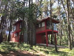 Casa En Mar Azul, Ohana Cabaña En El Bosque