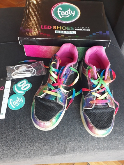 Zapatillas Footy Con Luces!!