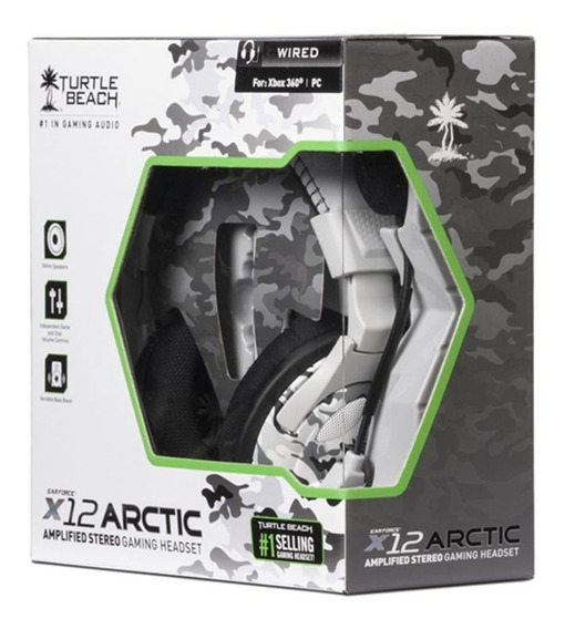 Headset Turtle Beach X12 Xbox 360/ Pc