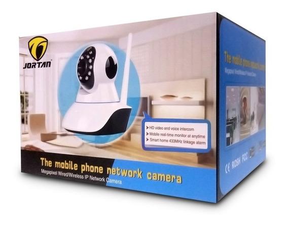 Camera Ip Seguranca Sem Fio 2 Antena Yyp2p Jortan 2 Unid