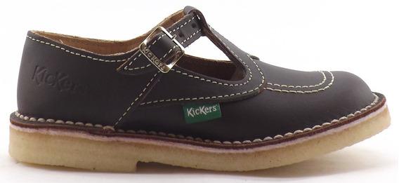 Zapatos Kickers Fray Mocho Clasicos Kali Nena Colegial 27-33
