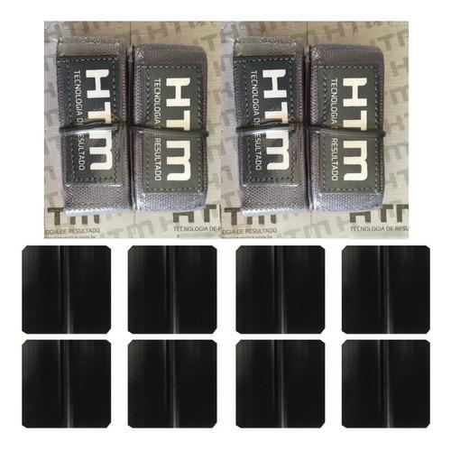 Cintas Elásticas E Eletrodos 5 Cm Para Estimulador - Kit