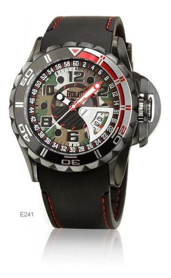 Relógio Pulso Everlast Masculino Com Calendário E241