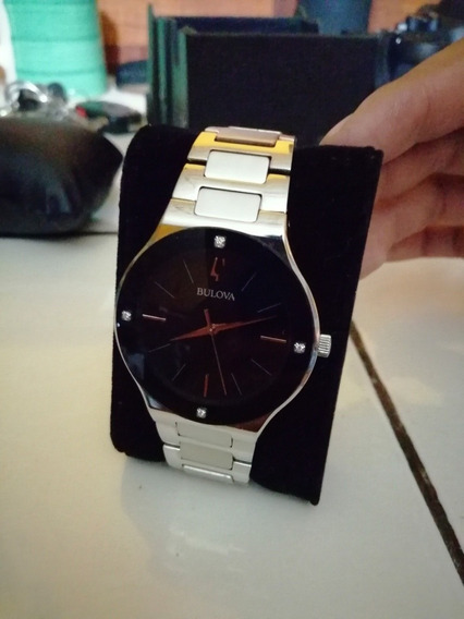 Reloj Para Caballero Bulova Impecable Moderno Y Elegante