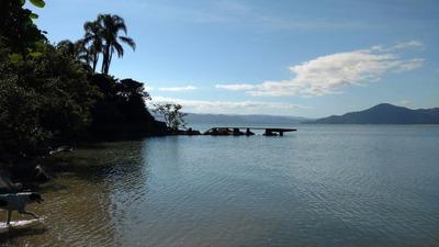 Lindo Terreno Frente Mar No Sambaqui - Com Escritura Pública E Viabilidade - Te0347
