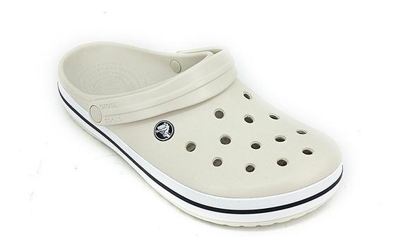 Sandalia Crocs Crocband Stucco White Original