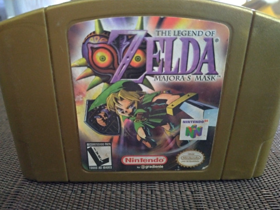 Cartucho Zelda Majora