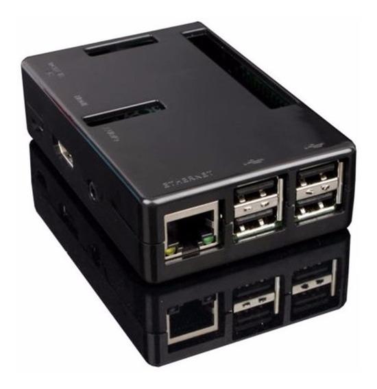 Gabinete Case Raspberry Pi3 Acceso Gpio Raspberry Pi 3 Negro