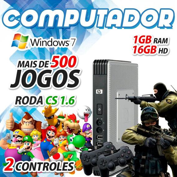 Kit Computador Gamer Barato Cs Mario E Outros Jogos Win 7