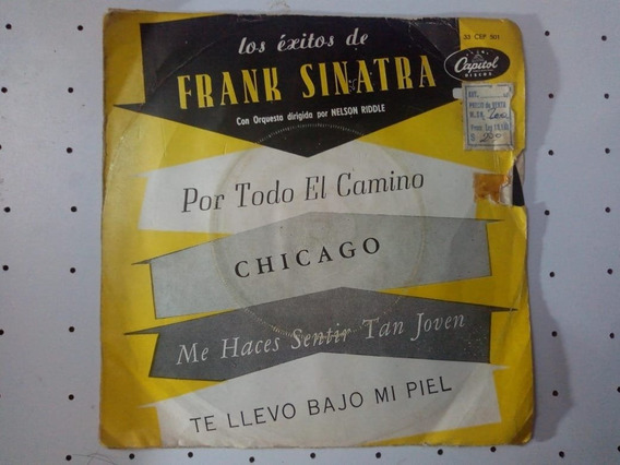 Disco Simple Frank Sinatra 4 Temas