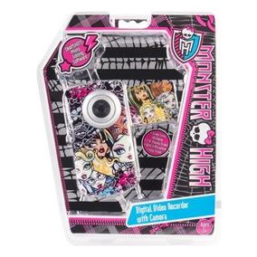 Monster High 38048 Gravador De Vídeo Digital Com Câmera