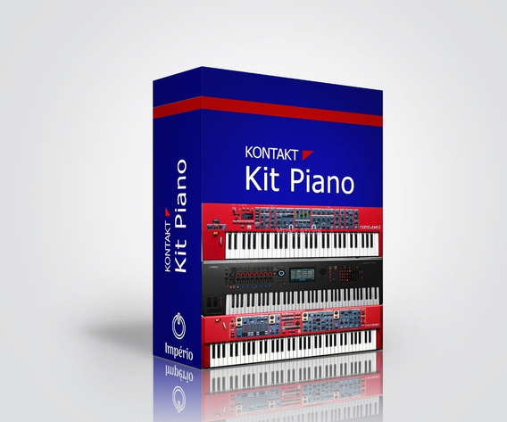 Piano Virtual - Kit Com 8 Piano + Kontakt 6.1 (bônus)