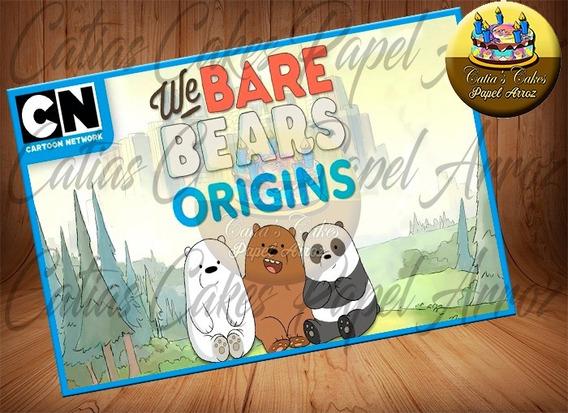 Papel De Arroz Comestível A4 Urso Sem Curso
