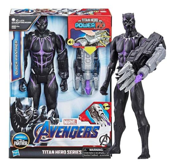 Boneco Pantera Negra Titan Hero E Dispositivo Power Fx E3306