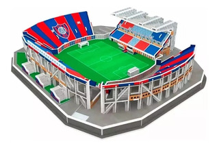 Maqueta Estadio 3d Real Madrid Barcelona San Lorenzo Newells